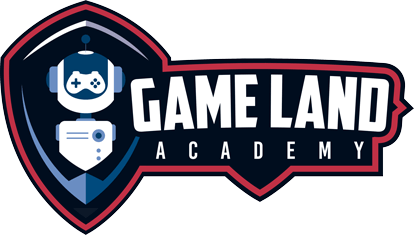 Logo Game Land Academy horizontal