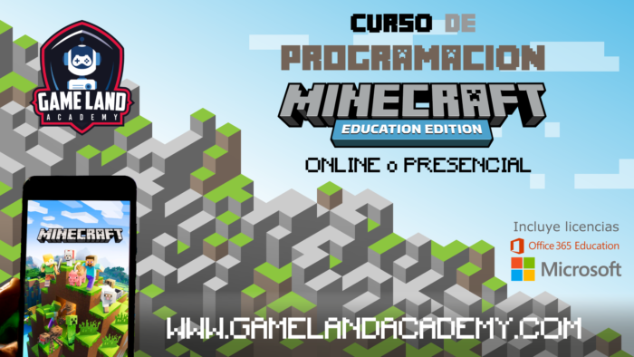 Curso online Minecraft education