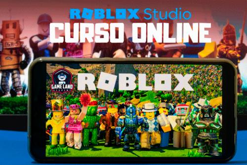 Curso online de creación de videojuegos en roblox studio