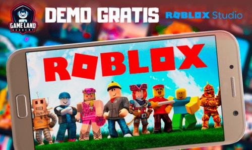 Demo gratis gratuita de roblox studio
