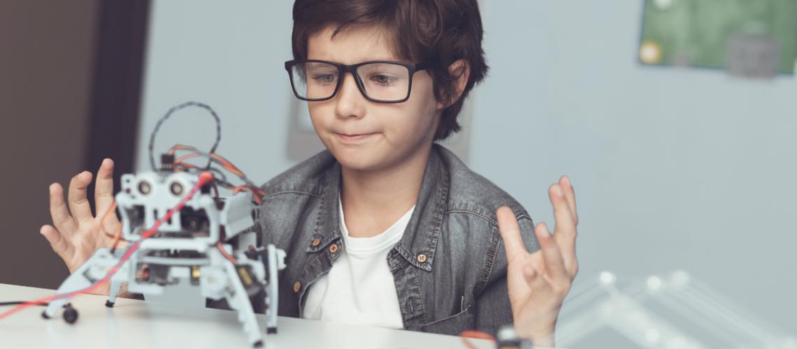 ventajas robotica educativa en niños